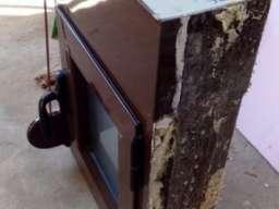 Aluminijum Prozor 70x50cm sa komarnikom i roletnom