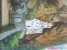 Umjetnička slika - Manastir Ostrog