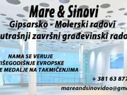Gipsarsko-Molerske usluge