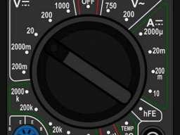 Digitalni multimetar DT-838
