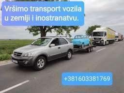 Prevoz vozila Novi Sad