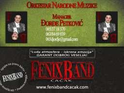 Djordje Petkovic i Fenix Band Cacak