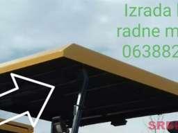 Izrada krova radnih mašina od poliestera (stakloplastika)