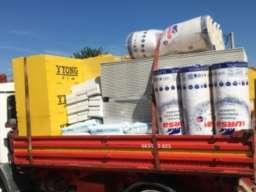 Odvoz šuta, prevoz gradjevinskog materijala